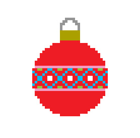Free Pattern Friday - Christmas Ornament from Hugs are Fun