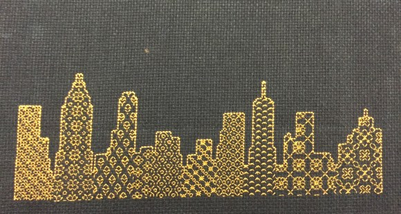 Gifts I Made - New York Cross Stitches from Hugs are Fun