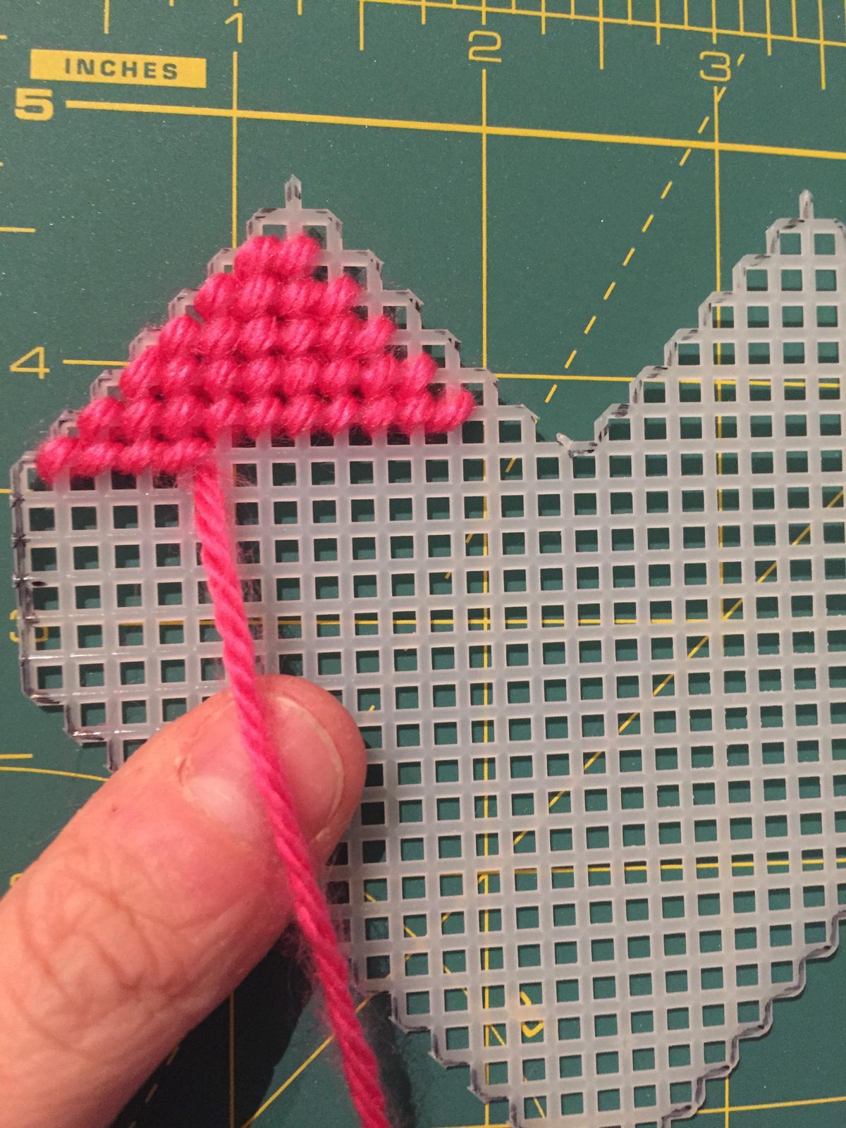 Plastic Canvas Valentines Box Pattern Amp Tutorial