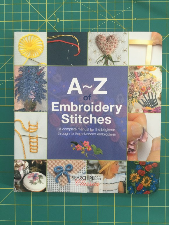 Book Review - A to Z of Embroidery Stitches from Hugs are Fun