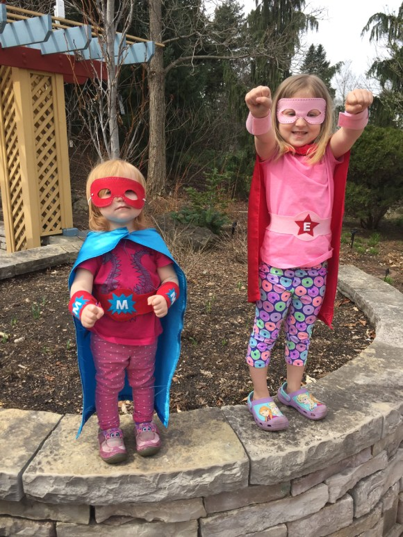 Make Believe Week - Superhero Accessories! from Hugs are Fun