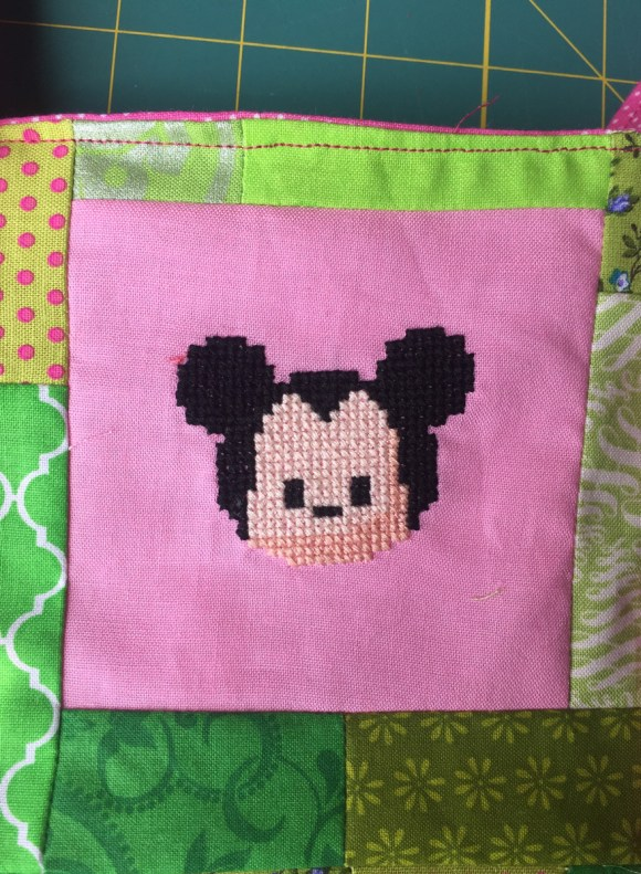 Mickey Tsum Tsum Cross Stitch from Hugs are Fun