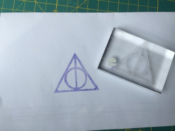 Deathly Hallows Stamp from Hugs are Fun