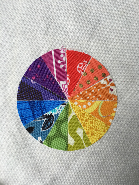 Large Fabric Color Wheel from Hugs are Fun