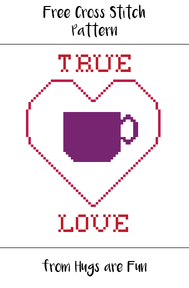 Free Pattern Friday - Coffee Love