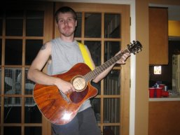 Will playing guitar