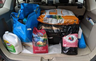 Donations delivered – multiple groups!