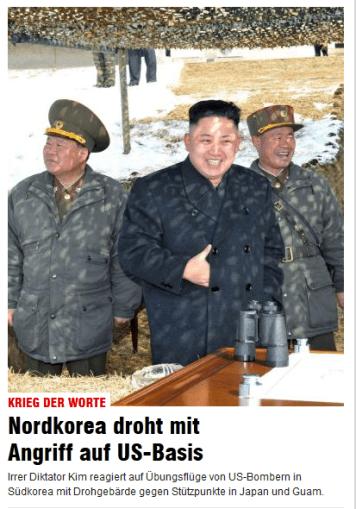 Online Ausgabe der Bildzeitung vom 21.03.2013 - 11:09 Uhr