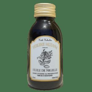 bouteille huile de nigelle Huilerie Meziana