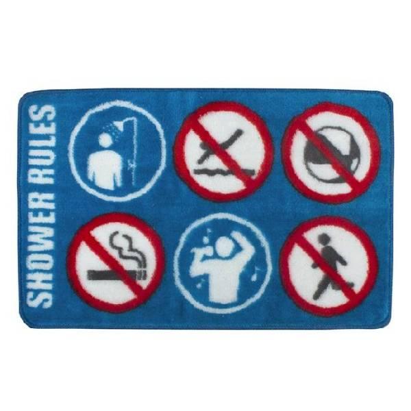 Badmat Shower Rules