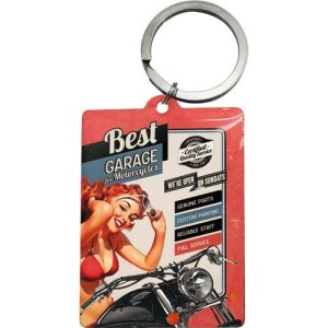 Best Garage for Motorcycles Keychain