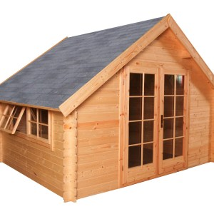 Blokhut tuinhuisje Luton 300x250cm