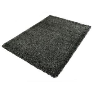 Vloerkleed Shaggy Deluxe 5533-90 Black-Melange 240 x 340 cm