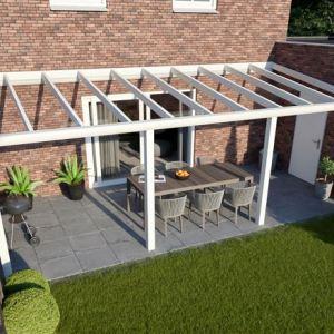 Greenline veranda 700x330 cm - Glasdak