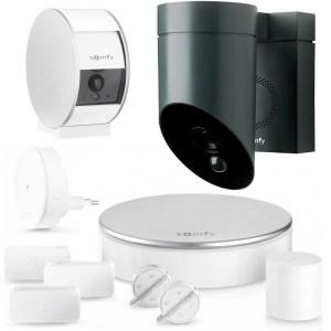 Somfy Home Alarm + Indoor Camera + Outdoor Camera