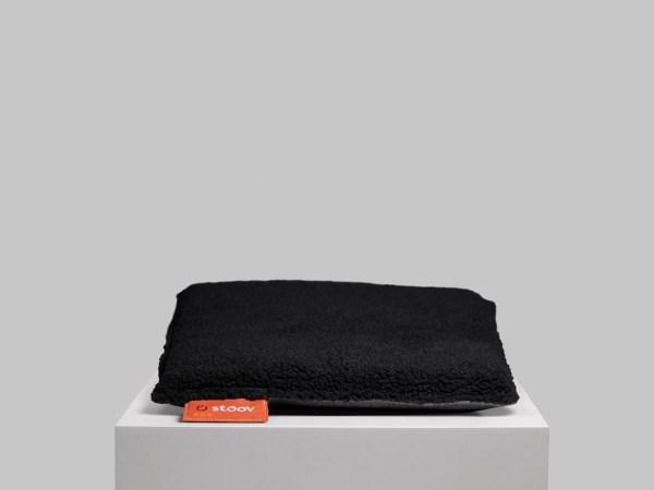 One   Woolly verwarmd zitkussen Woolly Black