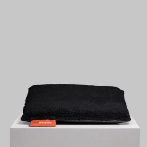 One | Woolly verwarmd zitkussen Woolly Black
