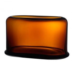 Nude Layers Vaas Breed, 39,5x23cm amber geel