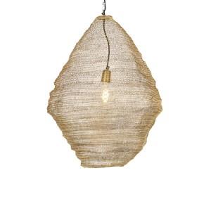 Oosterse hanglamp goud 60 cm - Nidum