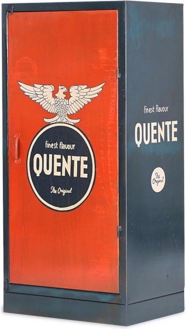 Vintage kast metaal 120x60 cm - Industriële Look - Duurzaam