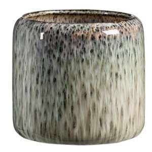 Bloempot Sam - groen - 14x15 cm - Leen Bakker