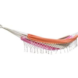 Hangmat Eénpersoons 'Grenada' Lychee - Roze - 123 Hammock
