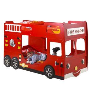 Brandweerwagen stapelbed Maarten-G