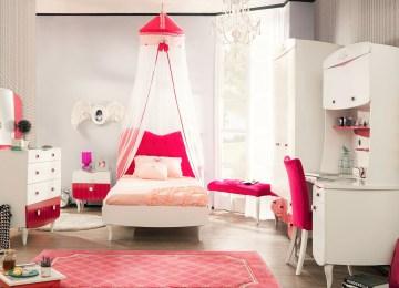 Bed Voor Kinderkamer.Meisjes Slaapkamer Bed Kinderbed Boomhut De Leukste Huisjesbedden