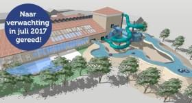 Vakantiepark Texel - Zwembad De Krim - Huisje huren op Texel - Strandloper