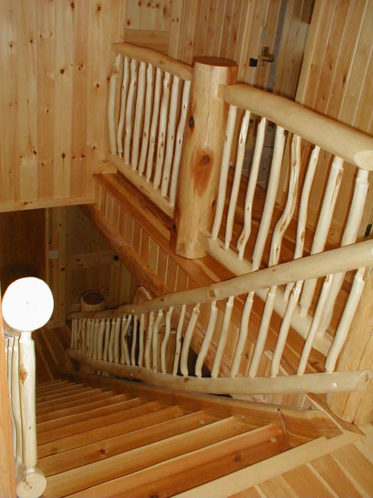 log cabin kitchen cabinets stainless steel appliance set cedar lake home in hillside – huisman concepts