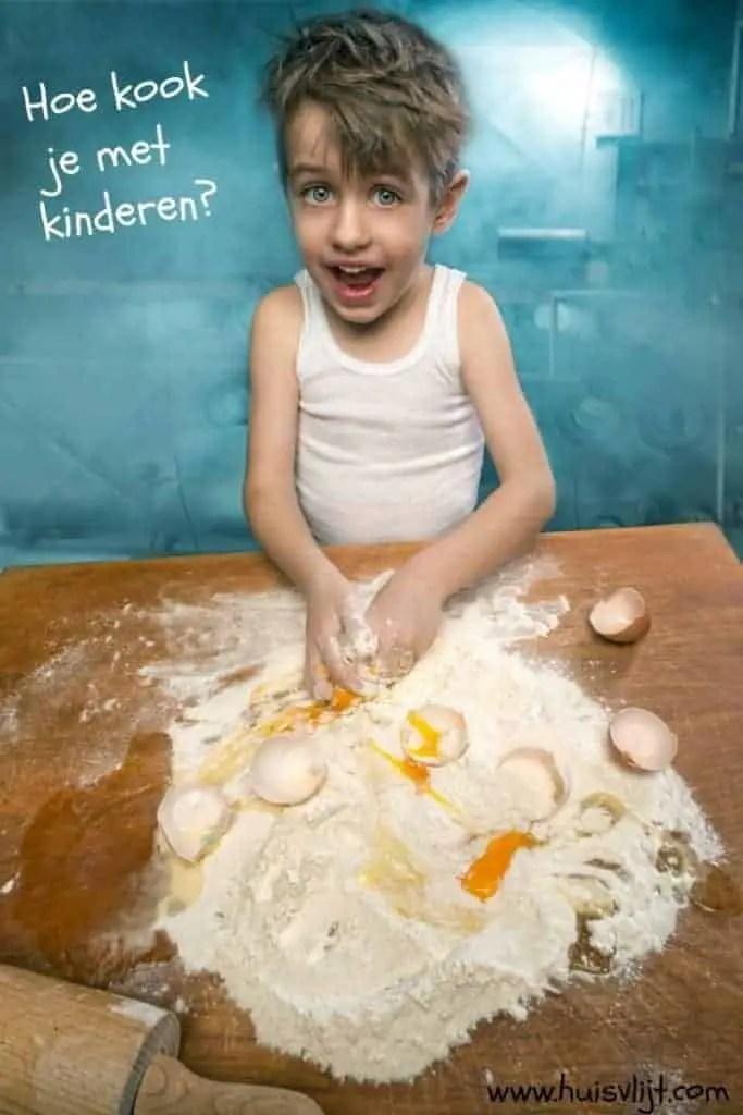 Hoe kook je met kinderen?