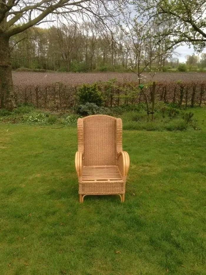 Rieten stoelen voor buiten full size of rotan in de tuin for Stoelen voor buiten