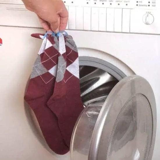 sokken bij elkaar houden