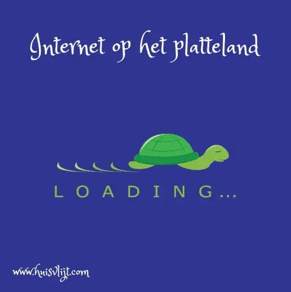 internet platteland