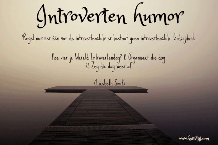 introverten humor
