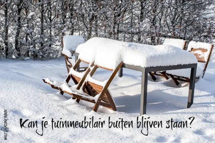 tuinmeubilair winter
