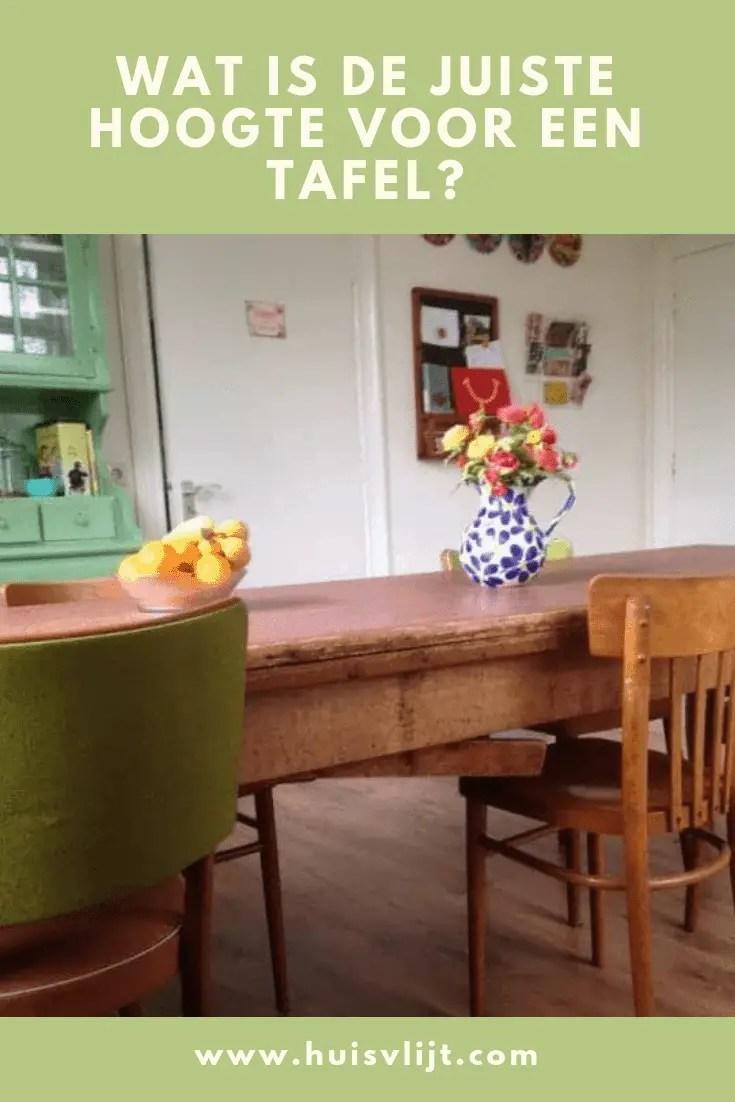Wat is handiger een rechte of ronde tafel huisvlijt