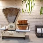 Vintage keukenweegschaal
