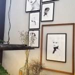 Schilderijen aan de muur