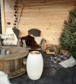 overkapping wintersfeer