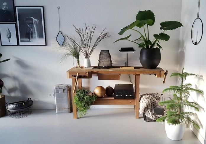woonkamer inspiratie werkbank