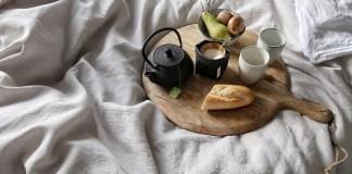 ontbij op bed