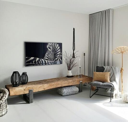 Een Nieuwe Televisie Maar Ook Een Compleet Nieuwe Tv Hoek