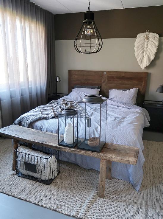 landelijke slaapkamer riviera maison huizedop