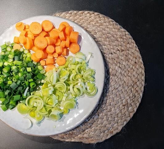 verse soepgroenten groentesoep