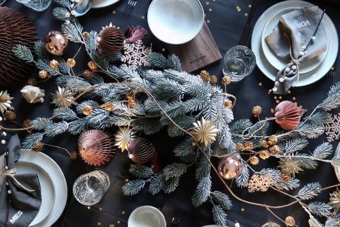 kerstdecoratie kerst kersttafel