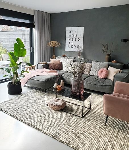 kleur in huis