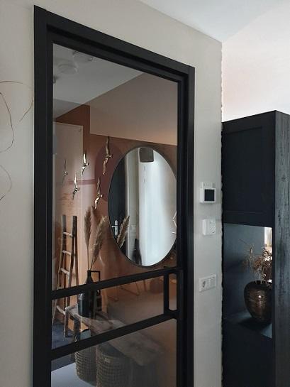 zwarte taatsdeur stalen deur