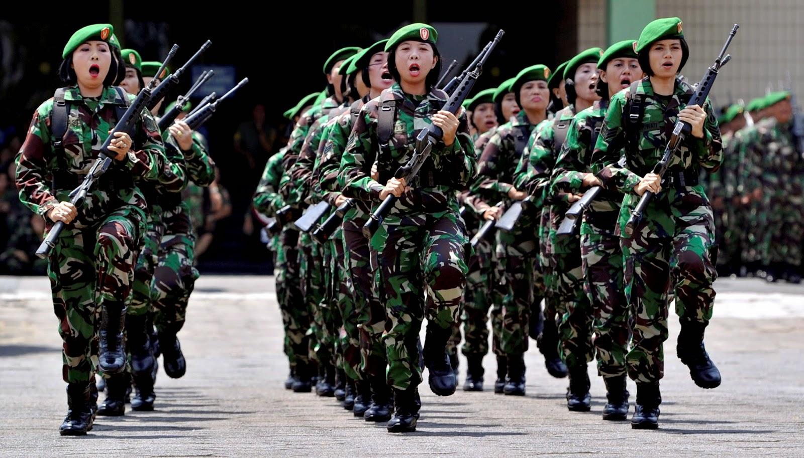 Syarat Masuk TNI Wanita Negara Republik Indonesia