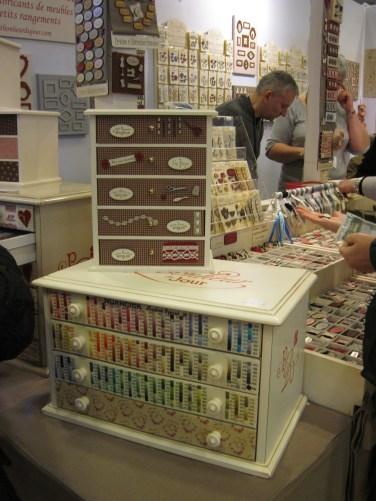 """Les jolis boutons et rangements du """"Petit Bonheur du Jour"""""""